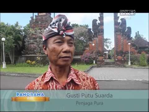 Panorama Antv Bali ( Garuda Wisnu Kencana-Pura Rambutsiwi-Pantai Medewi )