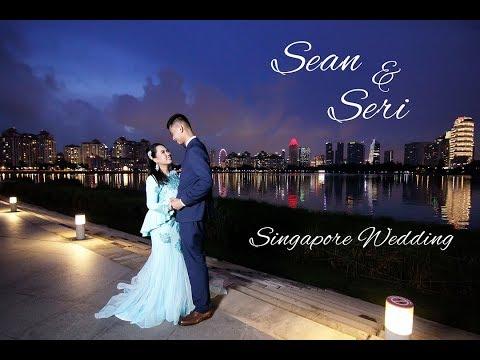 Sean & Seri cinematic at Lagun sari wedding Singapore
