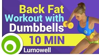 Back fat workout for women