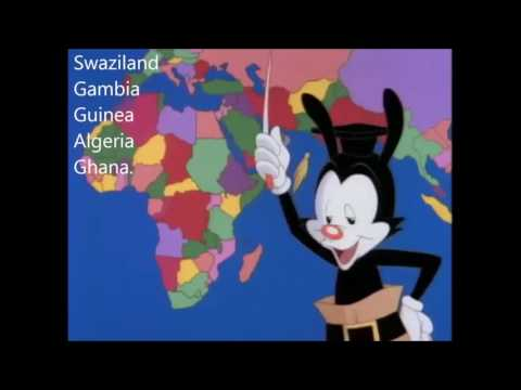 Nations of the World donald trump and Yakko!
