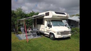 Hvidbjerg Strand Camping Blavand mit dem Wohnmobil - Pfingsten 2017