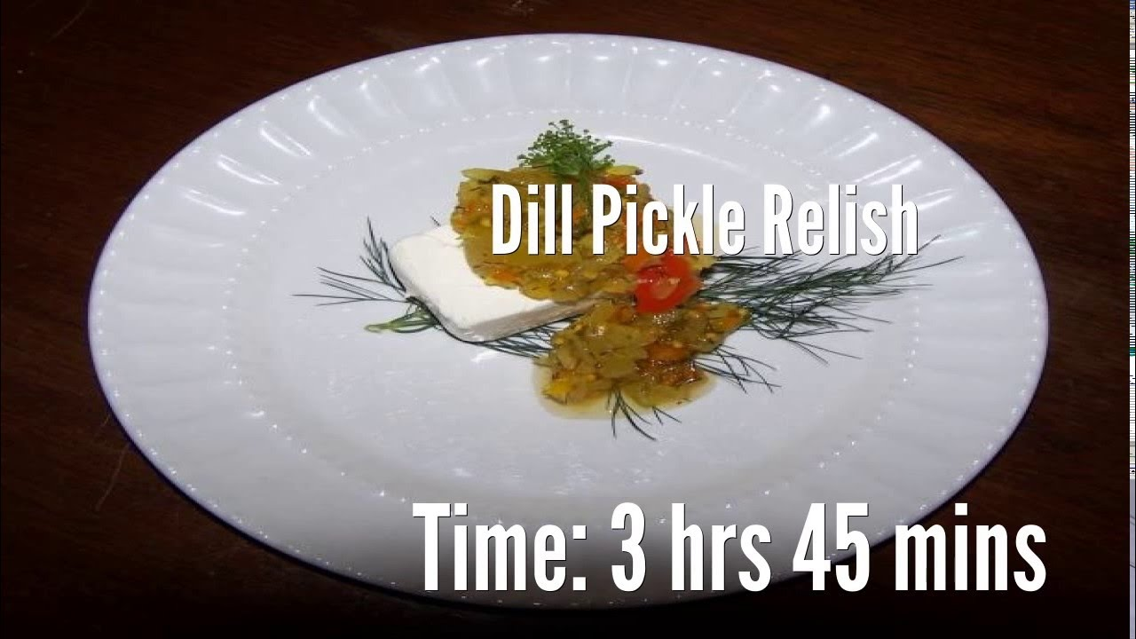 how to make dill relish
