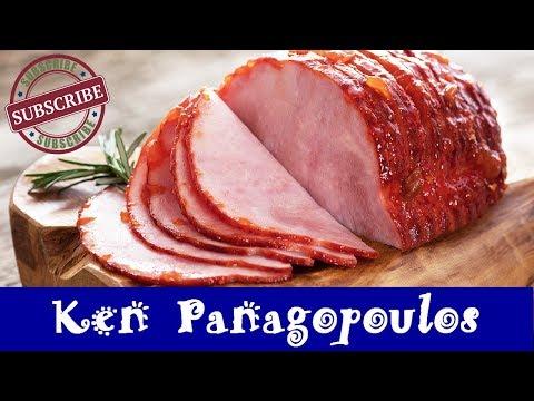 Honey Mustard Ham In The Slow Cooker  | Crock Pot Glazed Ham Recipe