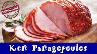 Honey Mustard Ham In The Slow Cooker    Crock Pot Glazed Ham Recipe