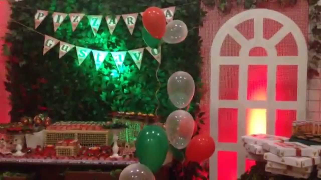 """DECORA u00c7ÃO DE FESTA COM MURO INGL u00caS""""NIVER SONHOS"""" BY JOSY GUEDES YouTube -> Decoracao De Oncinha Para Festa"""