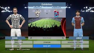 Juventus FC vs Trabzonspor, Juventus Stadium, PC GAMEPLAY, PCGAMEPLAY, PES 2016, Konami