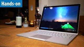 Surface Book 2 bei Amazon: http://amzn.to/2B5qb00 Microsoft bringt ...