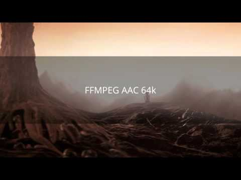 Fraunhofer FDK AAC and the native FFMPEG AAC comparison