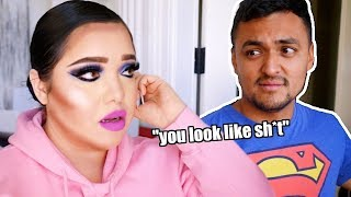 I Did My Makeup Horribly To See How My Husband Would React!