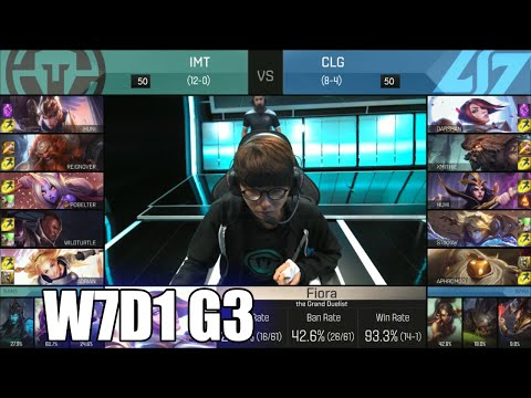 Immortals vs CLG | Week 7 Day 1 S6 NA LCS Spring 2016 | IMT vs CLG G2 W7D1
