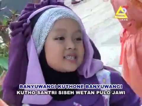 Lagu sholawat anak islami mila meylani kota santri