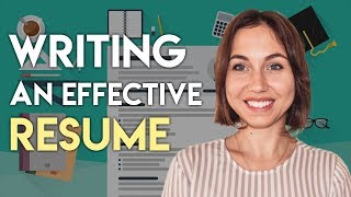 6 Tips For Writing An Effective Resume. Jobs in Dubai.