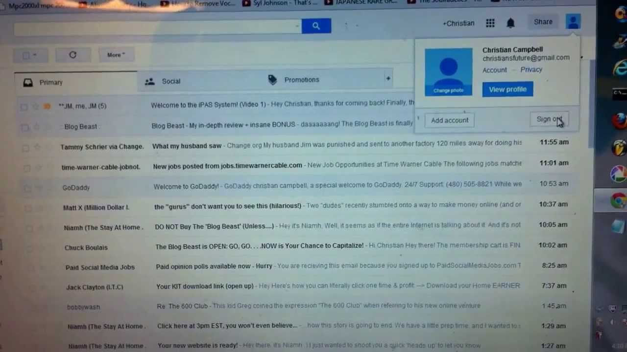 how to try new gmail