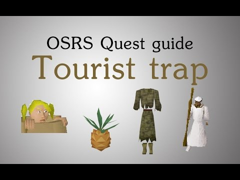 [OSRS] Tourist trap quest guide (stamina pots)