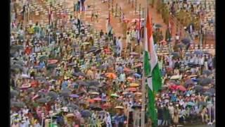 Indira Gandhi's Independence Day speech at Raj Ghat