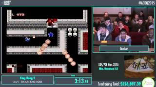 Awesome Games Done Quick 2015 - Part 122 - King Kong 2 by Garrison