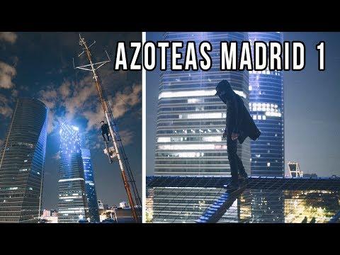 SUBIMOS EDIFICIOS para HACER FOTOS - ROOFTOP MADRID 1
