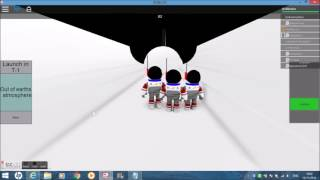 STS-110 - STS-Ambition - Remembrance Sunday Launch - ROBLOX NASA Mission