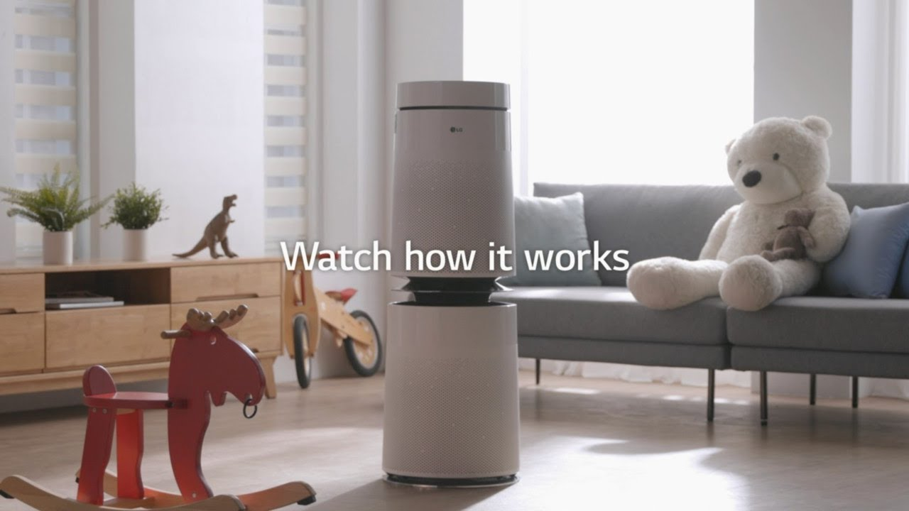 LG PuriCare : Purify the air in your house