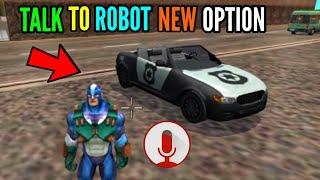 talk to robot new option    new update    rope hero vice town    pagal gamerz screenshot 2