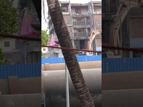 Destroing building in wuhan #china #corona virus