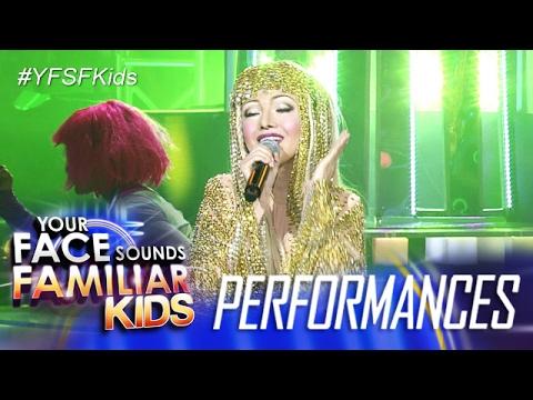 Your Face Sounds Familiar Kids: AC Bonifacio as Cher - Believe