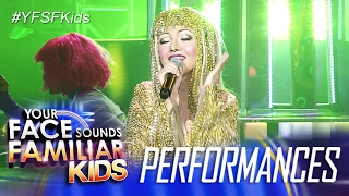 Your Face Sounds Familiar Kids: AC Bonifacio as Cher - Believe