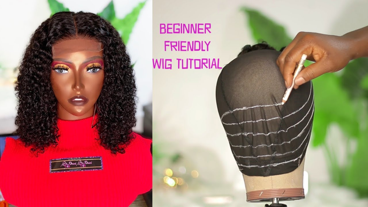 Download HOW TO DO A LACE CLOSURE WIG FOR BEGINNERS | FT She's Omoni Hair