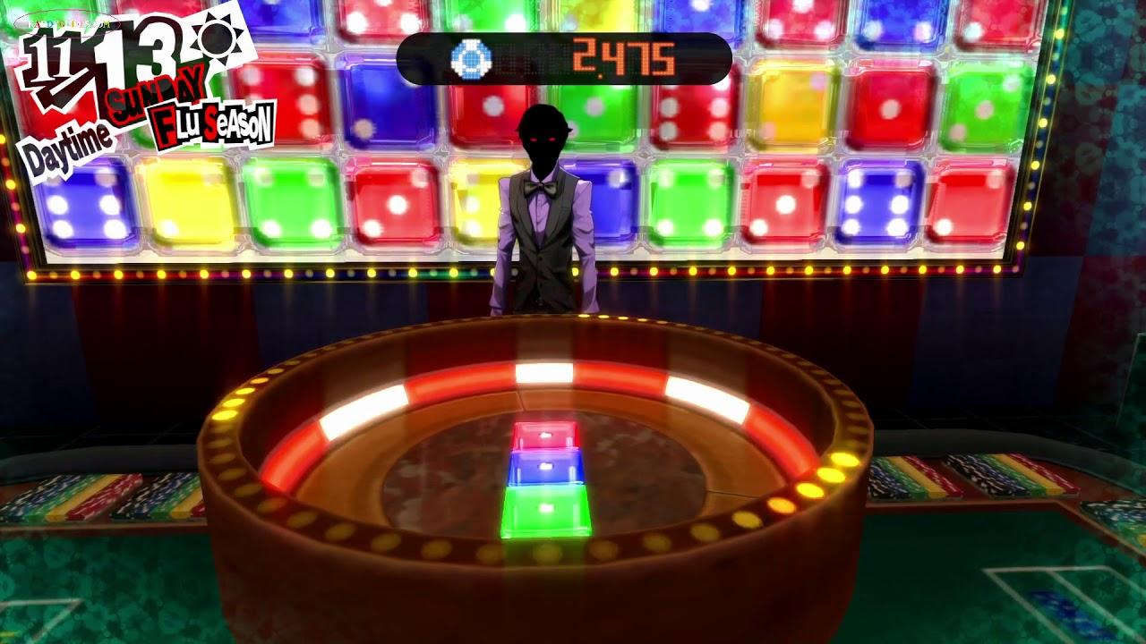Persona 5 Casino Dice Game