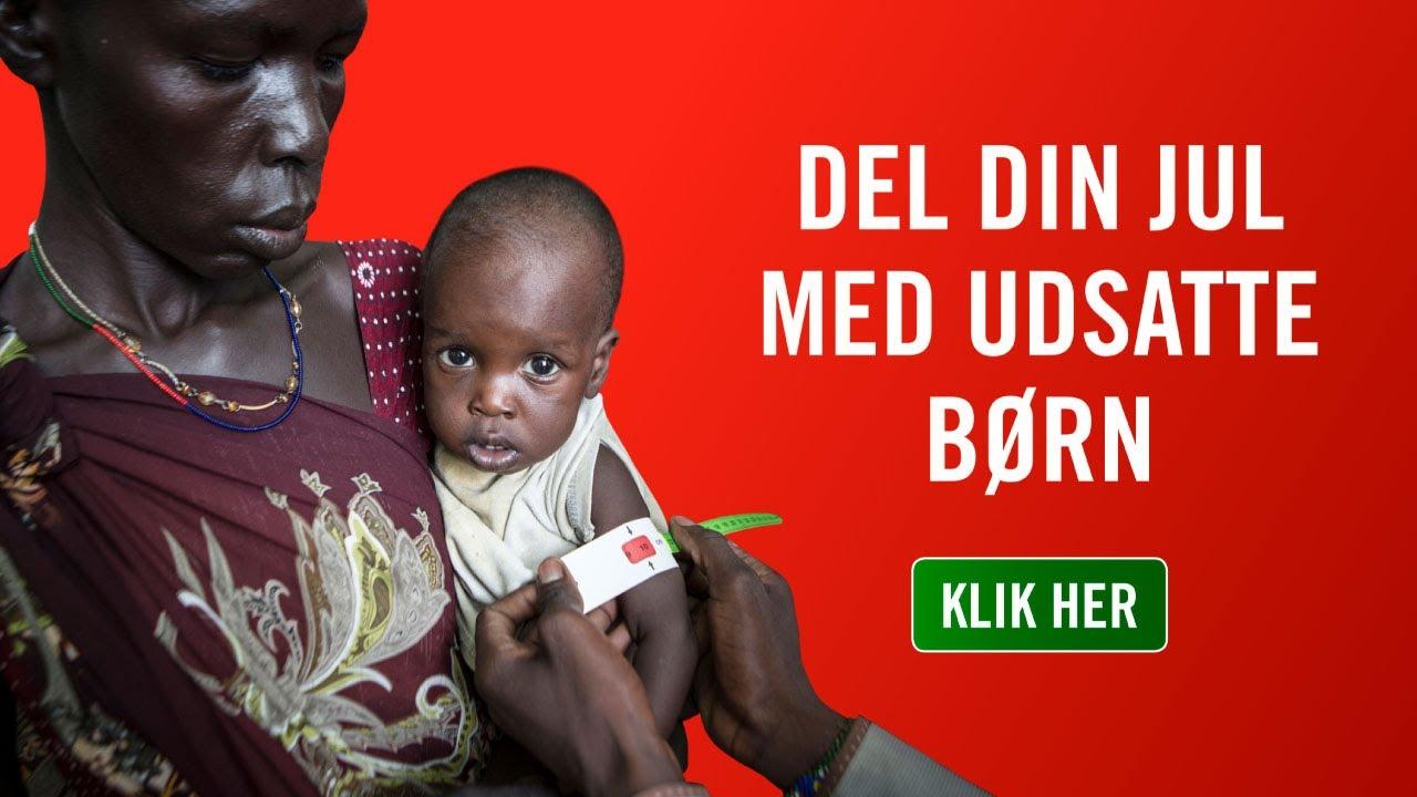 Red Barnet - Del din jul med børn som Nyadbeg (mad 25 sek)