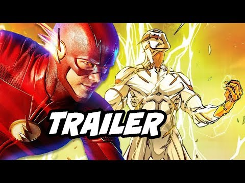 The Flash Season 5 Episode 16 Trailer - Godspeed Reverse Flash Easter Eggs Breakdown