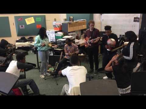 Pittonkatonk Workshop at Sto Rox High School