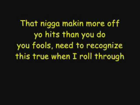 Eazy E - Just Tah Let u Know Lyrics [HQ]