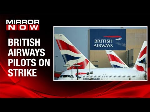 British Airways cancels almost all flights due to pilots' strike