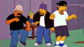 Скачать Cypress Hill Insane In The Brain Simpsons Remix