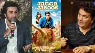 Ranbir Kapoor REACTS To Rishi Kapoor's ANGRY REACTION On Jagga Jasoos Failure