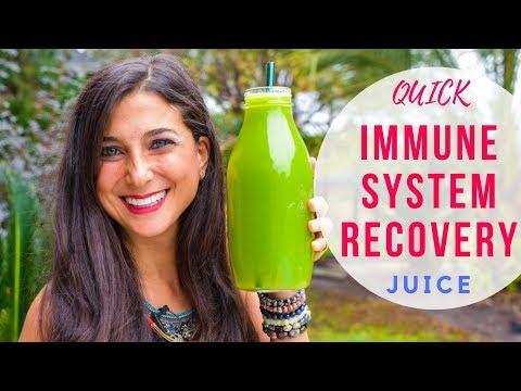 Secret Recovery Juice Recipe! Quick & Delicious Immune Boost!