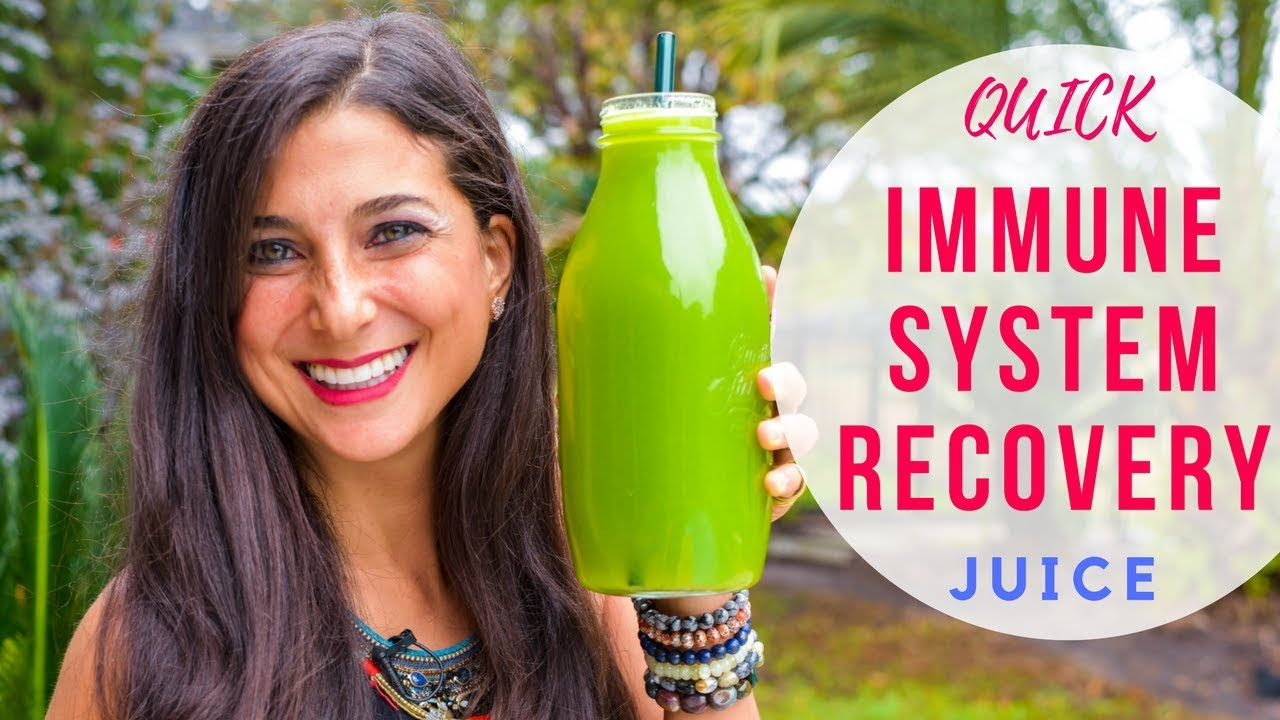 Secret Recovery Juice Recipe! Quick & Delicious Immune Boost!