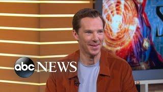 Benedict Cumberbatch Interview on Doctor Strange
