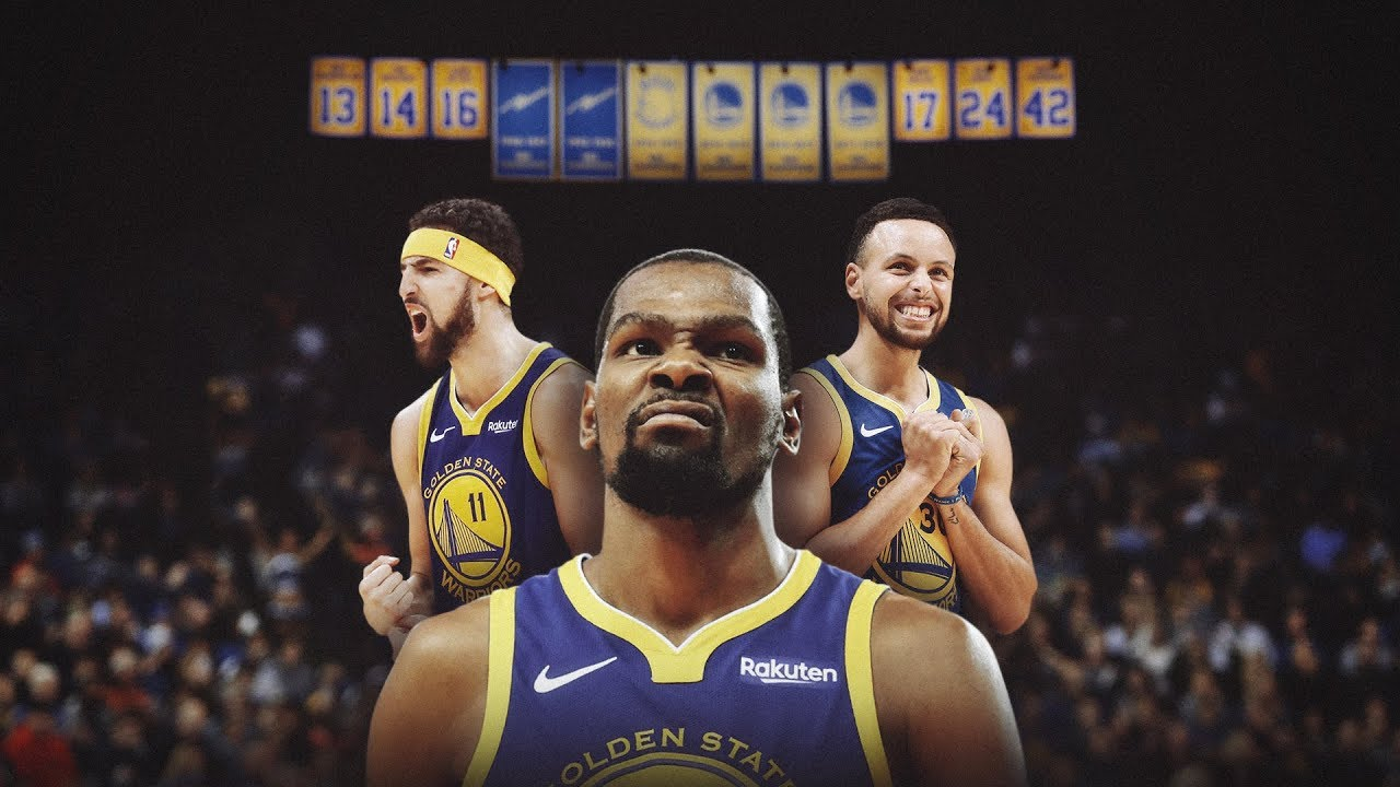 Kevin Durant, Klay Thompson, Steph Curry Make History, Each Go for 50+ in Single Season on Same Team