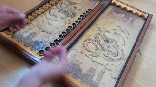 Видео обзор на Очень редкие Нарды Антиквариант