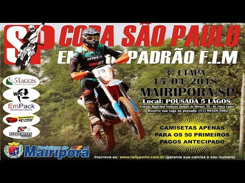 3° ETAPA COPA SÃO PAULO ENDURO FIM 2018 - MAIRIPORÃ SP- ALCANTARA RACING
