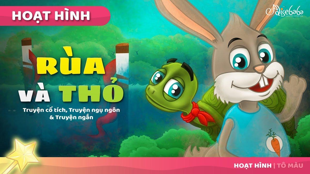 Rùa và Thỏ | Truyện cổ tích việt nam