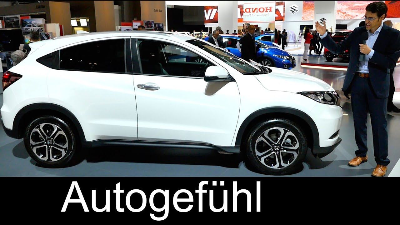 2016 all-new honda hr-v mini suv iaa review exterior/interior