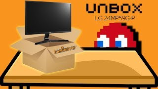 Hardware Unboxing: LG 24MP59G-P FreeSync 75Hz IPS Gaming Monitor