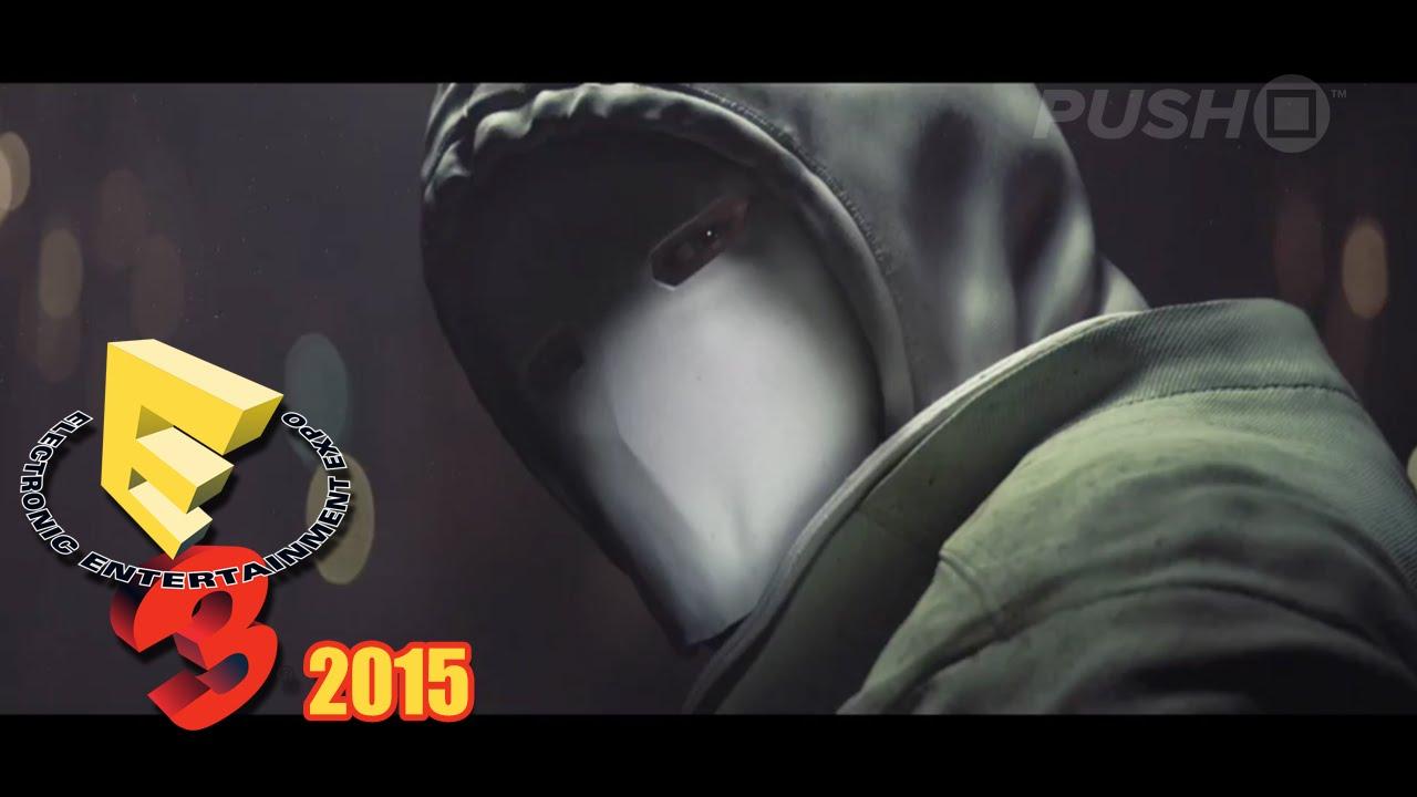 Rainbow Six Siege White Mask: Tom Clancy's Rainbow Six: Siege (PS4) E3 2015 White Masks