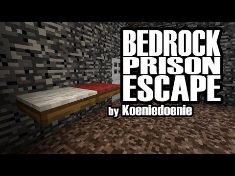 Прохождение Карты Побег из тюрьмы bedrock для minecraft 1.7.4