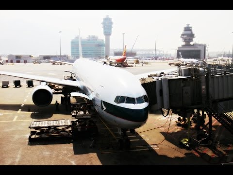 Cathay Pacific Airways B777-300 Flight Experience: CX735 Hon