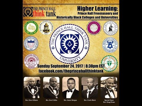 Higher Learning: Prince Hall Freemasonry and Historically Black Colleges  & Universities
