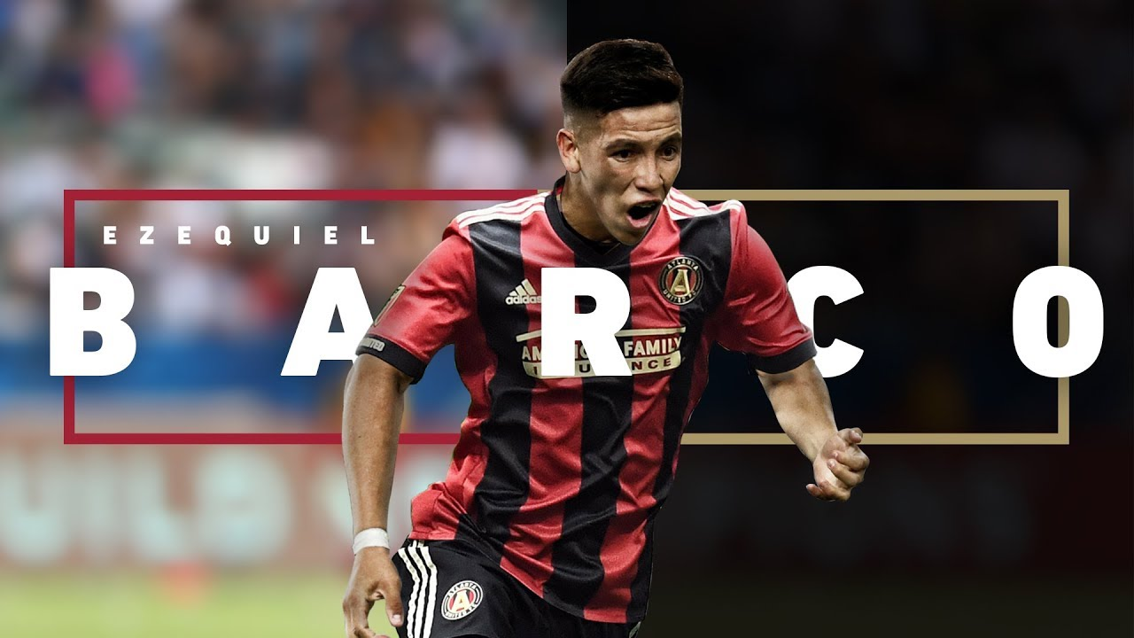 pretty nice 093da 6334a #BarcoWatch is over! Atlanta signs Ezequiel Barco for MLS-record fee
